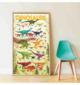 Poppik Poppik Stickerposter Dinosaurussen