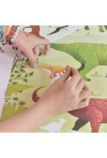 Poppik Poppik Sticker poster Dinosaurs
