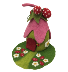 Papoose Toys Strawberry house and mat