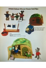 Papoose Toys Deluxe mouse house set