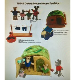 Papoose Toys Luxe muizenhuis set