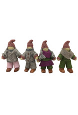Papoose Toys Woodland fairy family / 4 pcs