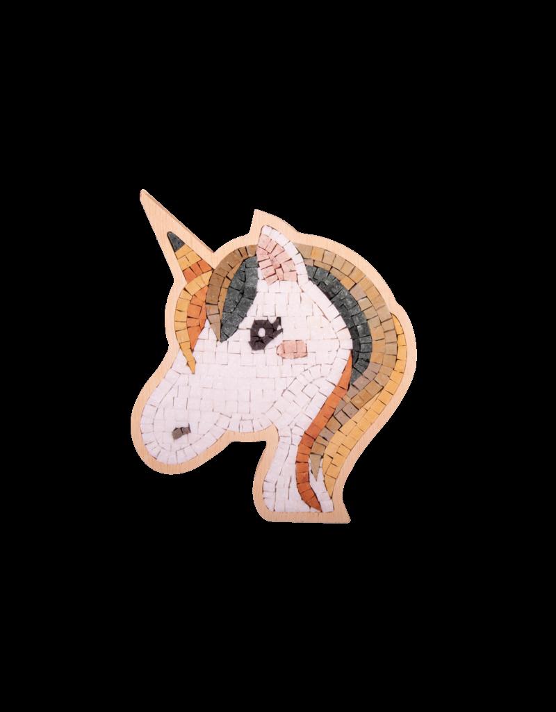 Neptune Mosaic DIY mozaiek Unicorn Face 4 Special ca 17 cm
