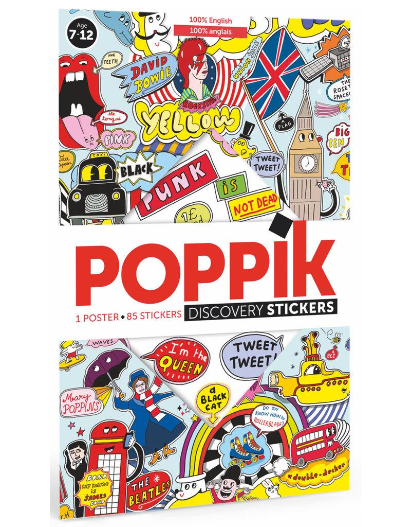 Poppik Poppik stickerposter English