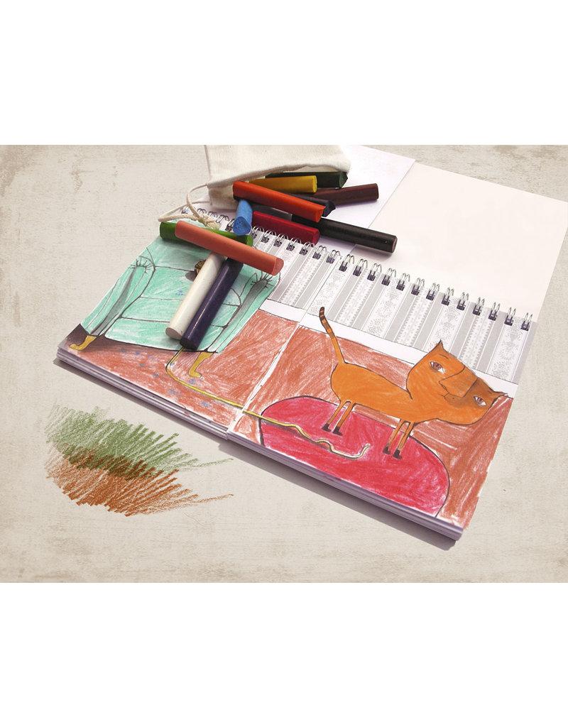 Marbushka Kleurboek Waar woon jij?