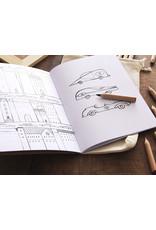 Marbushka Colouring book for boys