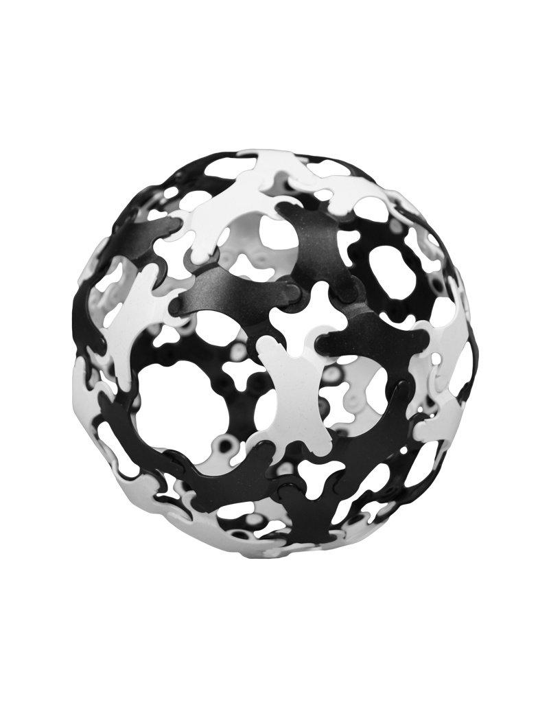 TicToys TicToys Binabo constructiespeelgoed 60 stuks zwart en wit