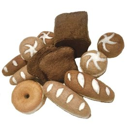 Papoose Toys Bread set / 17 pcs