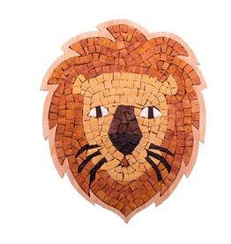 Neptune Mosaic DIY Mozaiek Leeuw Portret Speciaal