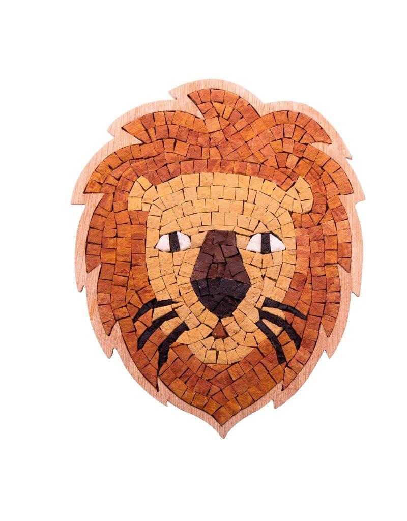 Neptune Mosaic DIY mozaiek Lion Face Special ca 17 cm