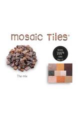 Neptune Mosaic Pot met 750 gekleurde mozaieksteentjes 700 g/0,5 l