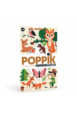 Poppik Poppik stickerposter In the forest