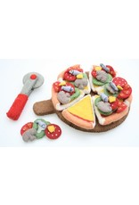 Papoose Toys Pizza set with cutter, server and toppings