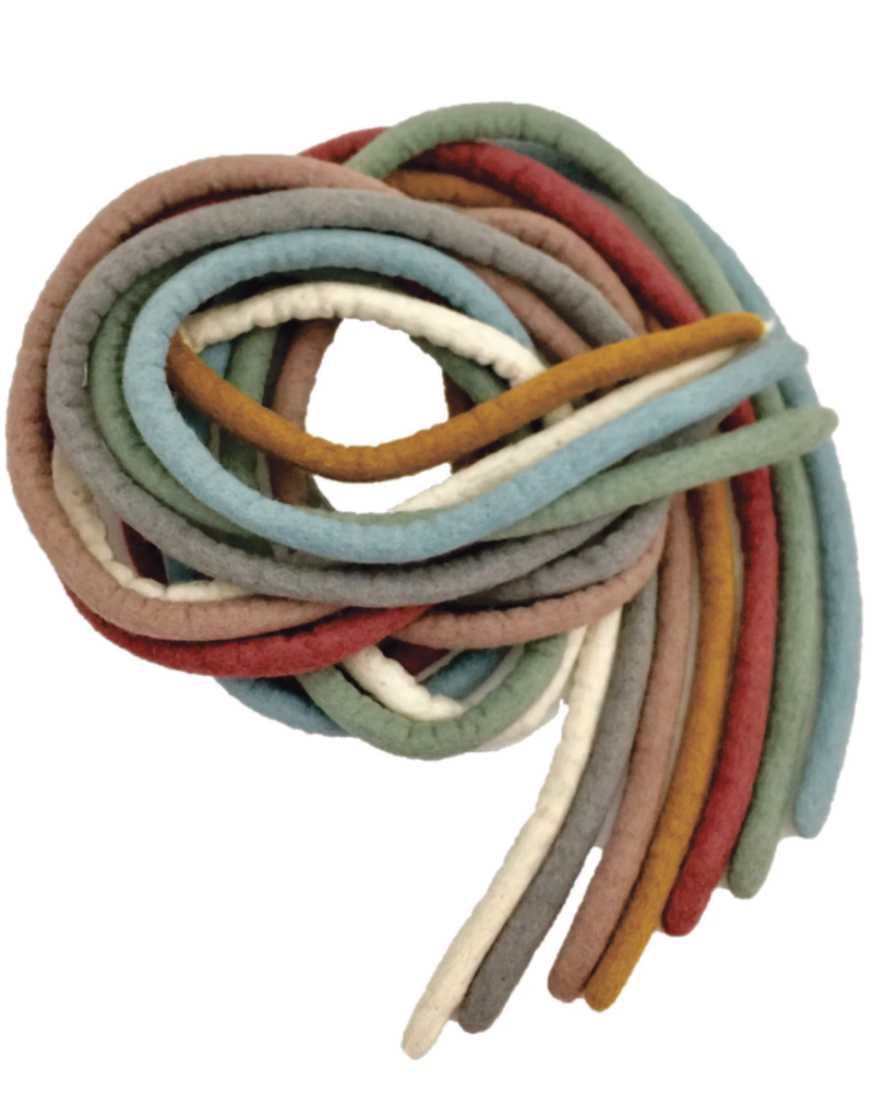 Papoose Toys Earth ropes 7 pieces