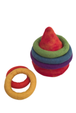 Papoose Toys Rainbow Quoits