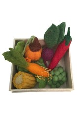 Papoose Toys Small veggie set boxed