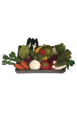 Papoose Toys Crated vegetable set