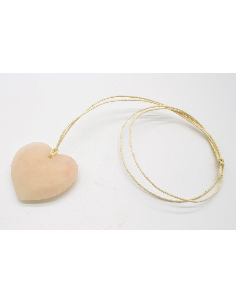 Kunstwerk Amulet hart 1 stuk