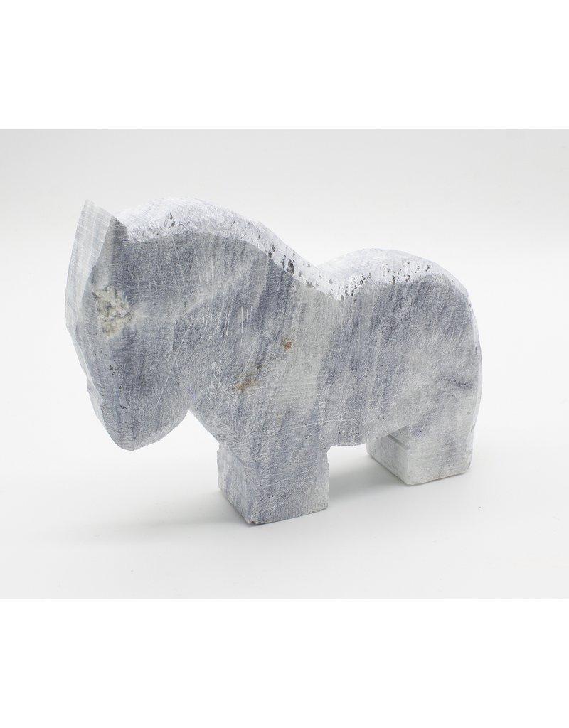 Kunstwerk Speksteenset dierfiguren 3 stuks