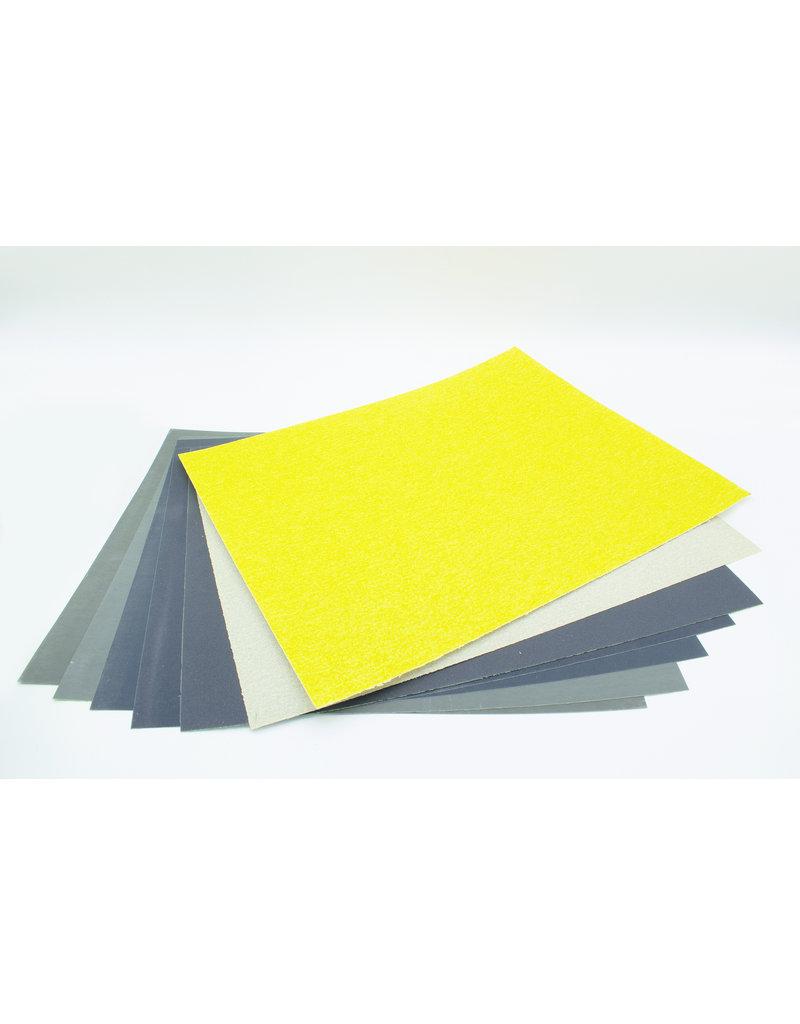Kunstwerk Schuurpapierset  groot 23 x 28 cm