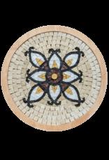 Neptune Mosaic Mandala 5 met lijst 20 cm
