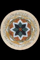 Neptune Mosaic Mandala 7 met lijst 20 cm