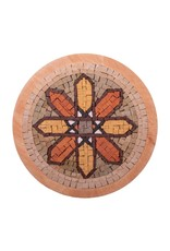Neptune Mosaic Mandala 9 met lijst 20 cm
