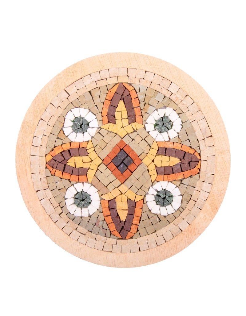 Neptune Mosaic Mandala 14 met lijst 20 cm
