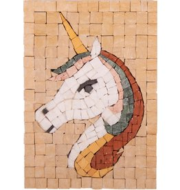 Neptune Mosaic Mosaikit Eenhoorn face
