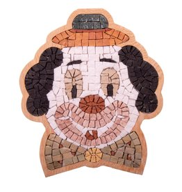 Neptune Mosaic Clown portret Special