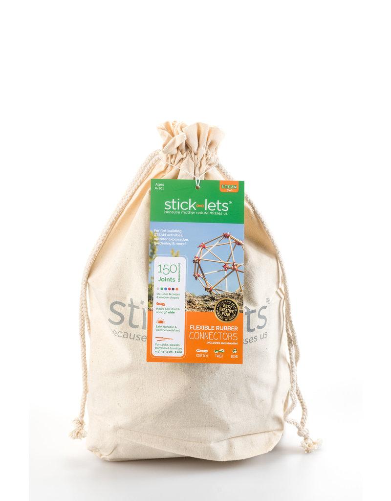 Stick-lets Stick-lets Small educational/school kit 90 pieces