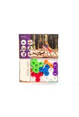 Stick-lets Stick-lets 18-delige set Mega Fort kit voor het bouwen van hutten, tenten, geometrie