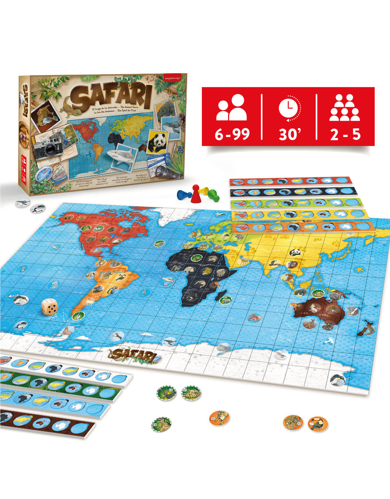 Juegoconmigo Juegoconmigo Safari - game of animals NL- BE- DE