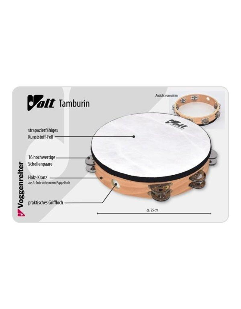 Voggenreiter Volt tamboerijn met trommelvel