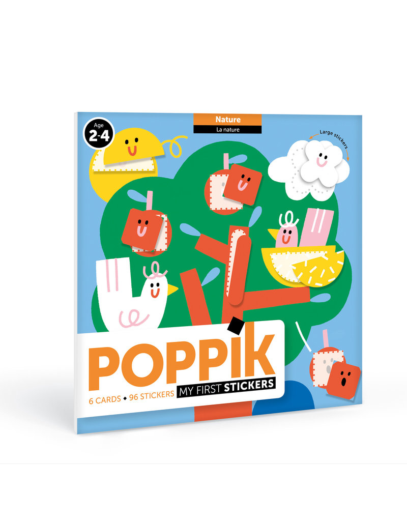 Poppik stickerkunst My First stickers - natuur