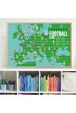 Poppik Poster stickers voetbal
