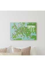 Poster stickers voetbal
