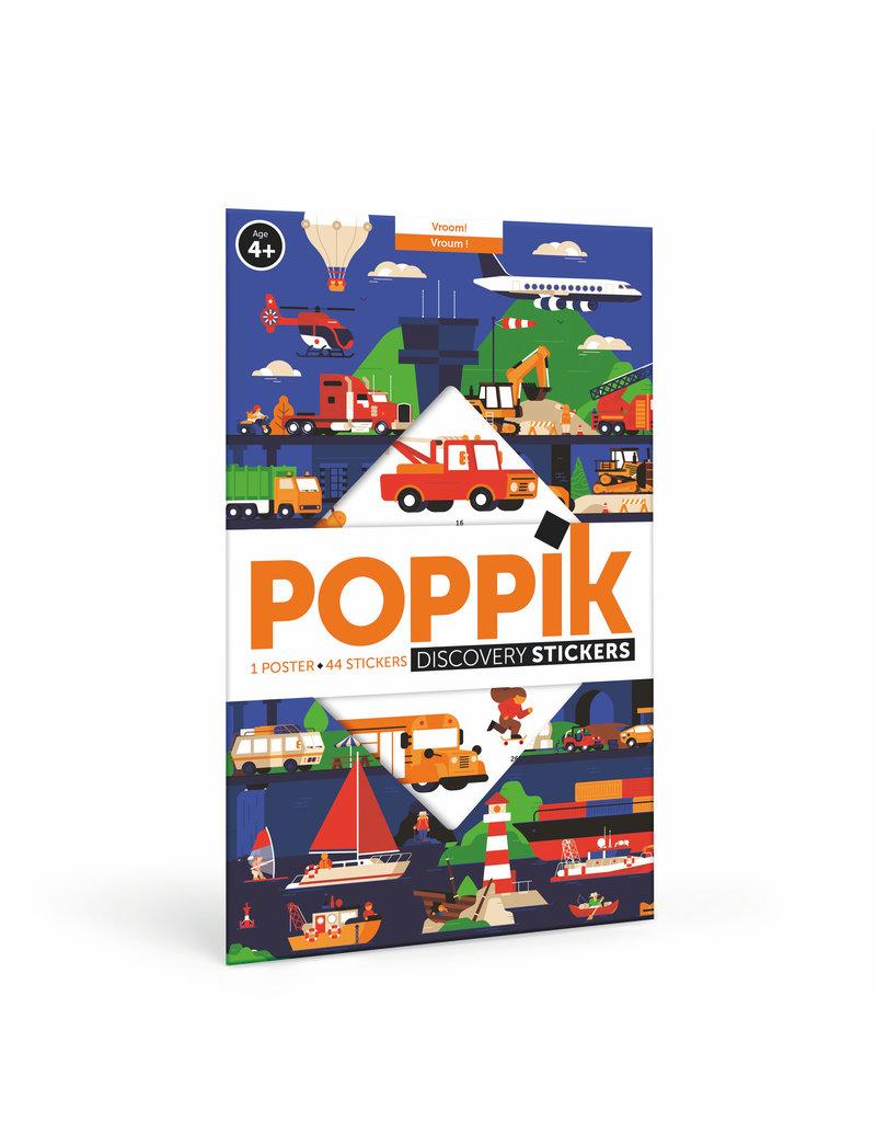 Poppik stickerkunst Poster stickers voertuigen