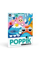 Poppik stickerkunst Poster stickers Seizoenen