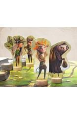 Marbushka fairtrade spellen Under the Leaves