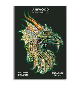 Aniwood Puzzel draak medium