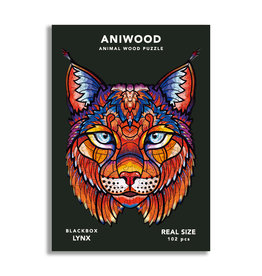 Aniwood Puzzle Lynx small