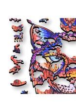 Aniwood Houten puzzel Lynx small