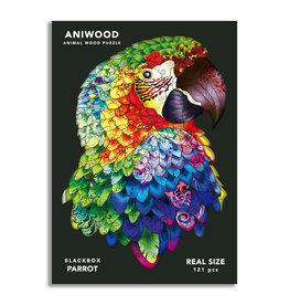 Aniwood Puzzle parrot medium