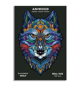 Aniwood Puzzle wolf medium