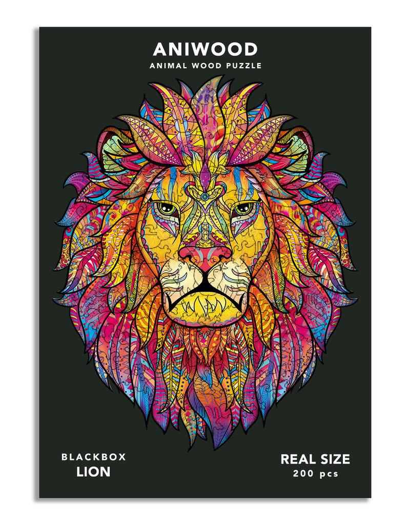 Aniwood Wooden puzzle lion large