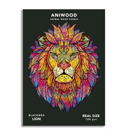 Aniwood Puzzel Leeuw medium