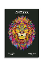 Aniwood Wooden puzzle lion small