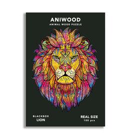Aniwood Puzzel leeuw small