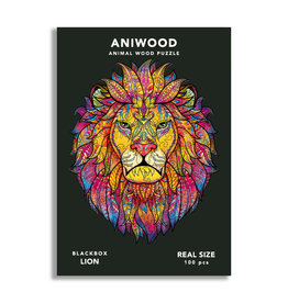 Aniwood Puzzle lion small